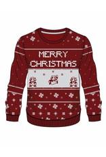 BIOWORLD Nintendo Sweater Red Mario X-mas