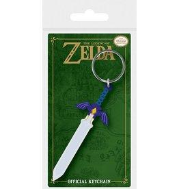 PYRAMID Legend of Zelda porte-clés caoutchouc Master Sword 6 cm