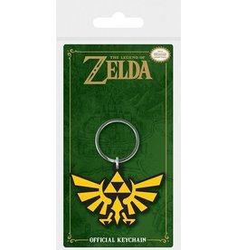 PYRAMID Legend of Zelda porte-clés caoutchouc Triforce 6 cm