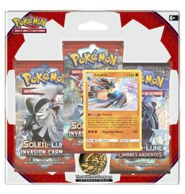 ASMODEE POKEMON SL04 PACK 3 BOOSTER INVASION CARMIN