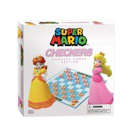 USAOPOLY Super Mario jeu de dames Princess Power