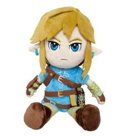 SANEI ZELDA BREATH OF THE WILD ZELDA LINK PELUCHE 21CM