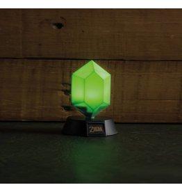 PALADONE Legend of Zelda veilleuse 3D Green Rupee 10 cm