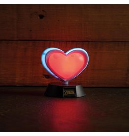 PALADONE Legend of Zelda veilleuse 3D Heart Container 10 cm