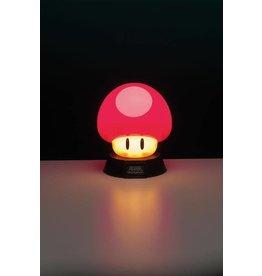 PALADONE Super Mario veilleuse 3D Mushroom 10 cm