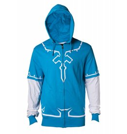 BIOWORLD Zelda - Link's Breath of the Wild Outfit Hoodie