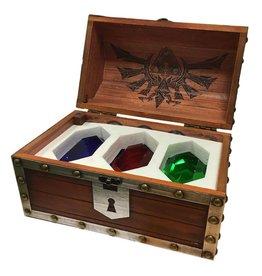 PYRAMID Legend of Zelda pack 3 presses-papier Coffre Rubis