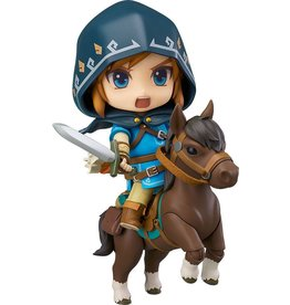 GOOD SMILE COMPANY The Legend of Zelda Breath of the Wild figurine Nendoroid Link Deluxe Edition 10 cm