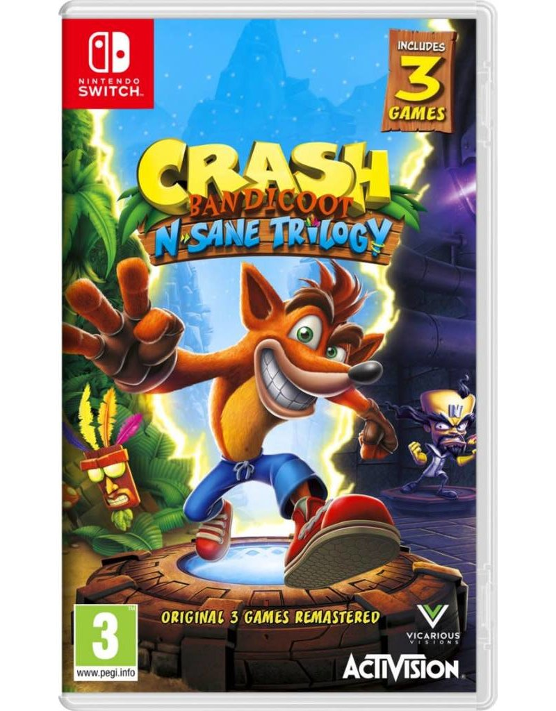 Crash Bandicoot N'sane Trilogy