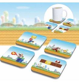 PALADONE Super Mario pack 8 sous-verres 3D