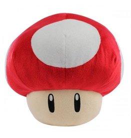 SANEI Peluche Super Mario Champignon Rouge 32cm