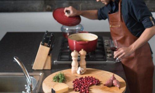 Wie man in der Küche zu einem echten mancave