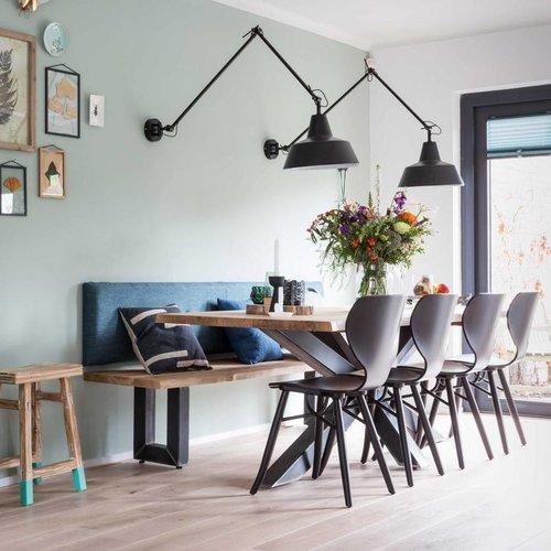 Wie verbinden Küche und Wohnzimmer