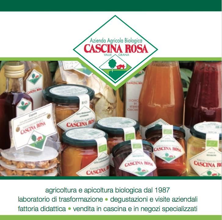 Cascina Rosa Vinaigre Bio de pomme et framboise