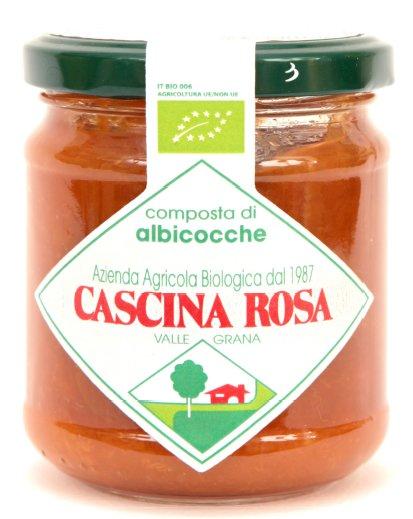 Cascina Rosa Confiture Bio d'abricots Tonda di Costigliole