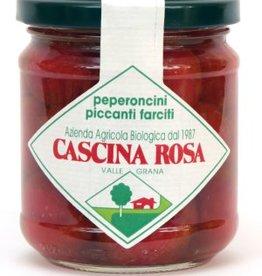 Cascina Rosa Peperoncini piquant farçi Bio