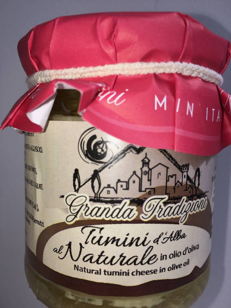 Granda Tradizioni Tumini d'Alba au naturel dans huile d'olive