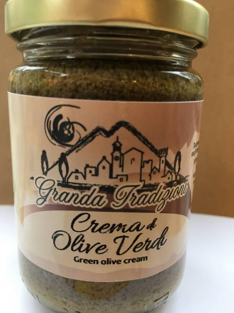 Granda Tradizioni Crème aux olives vertes