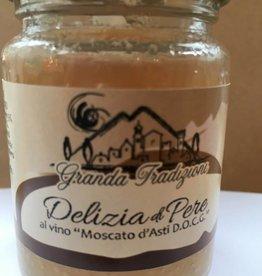 Granda Tradizioni Sauce douce à la poire et vin Moscato d'Asti DOCG