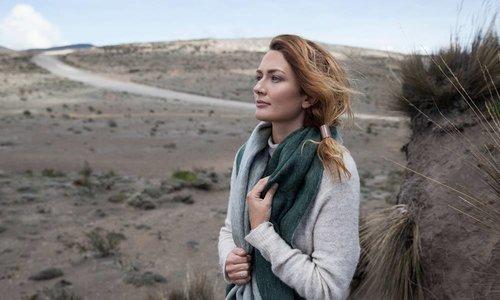 Sjaals van Alpaca wol