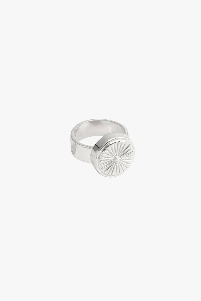 Wildthings Wildthings | Wildflower ring silver
