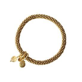 A Beautiful Story armband goud Jacky Citrien