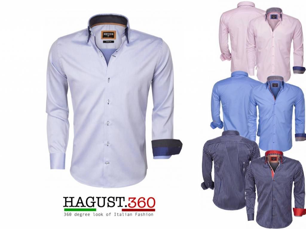 Overhemd Italiaans Design.Italiaans Design Getailleerd Overhemden Hagust360 Com