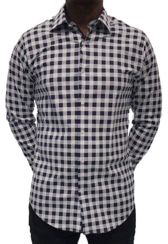 Wit Getailleerd Overhemd.Chamberlain Heren Overhemd Lange Mouw Wit Hagust360 Com