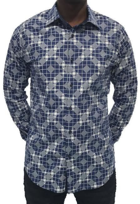 Heren Overhemd Blauw.Chamberlain Heren Overhemd Lange Mouw Rood Hagust360 Com