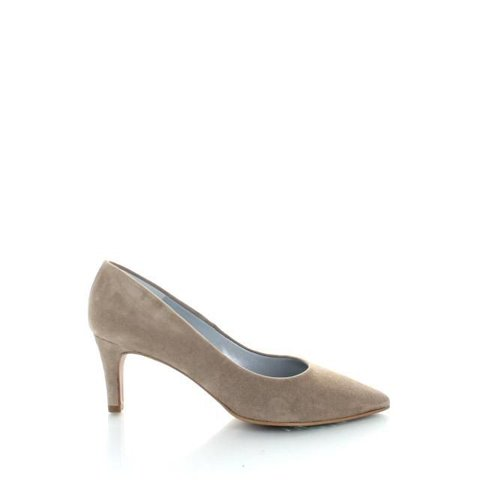 Ancona, Suede Pumps Taupe