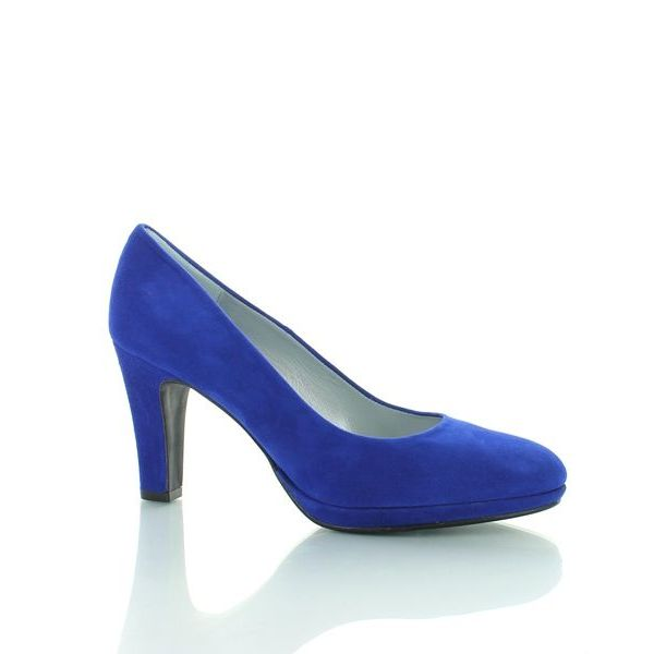 Capri Basispump Capri, Suede Pumps Royal Blue