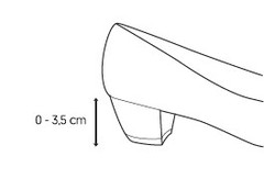 Lage hak (< 3,5 cm)
