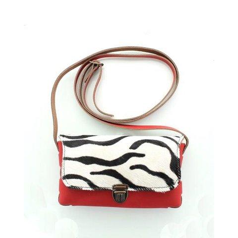 Pelle Rood Zebra
