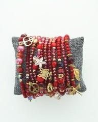 Producten getagd met rood armbandje voor dames