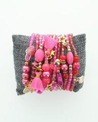 Producten getagd met fuchsia armbandjes voor dames