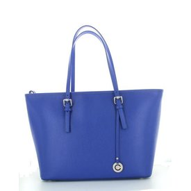 Stretto, Leren Tas Royal Blue
