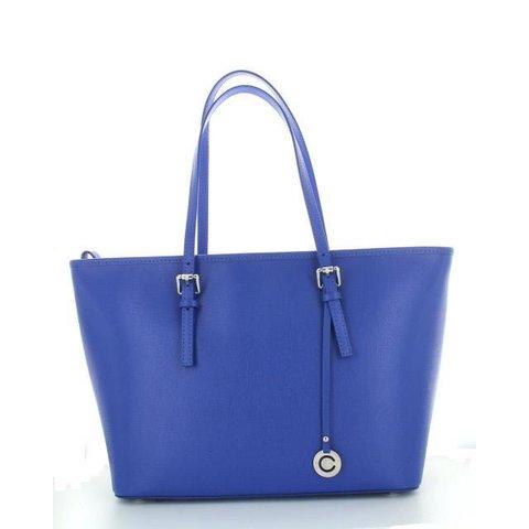 Stretto, Leren Tas Royal Blue