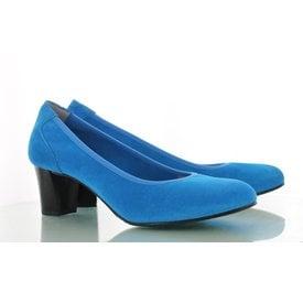 Denia, Suede Pumps Turquoise