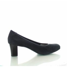 Denia Denia, Suede Pumps Grijs