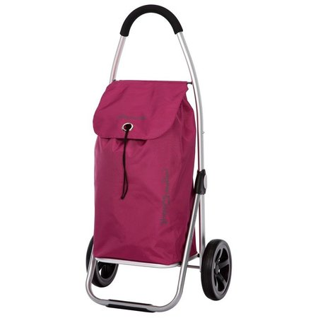 Playmarket Boodschappentrolley Go Two Lila