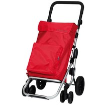 Boodschappentrolley Go Plus Rood