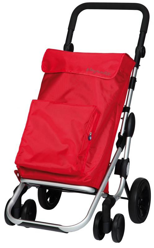 Playmarket Boodschappentrolley Go Plus Rood