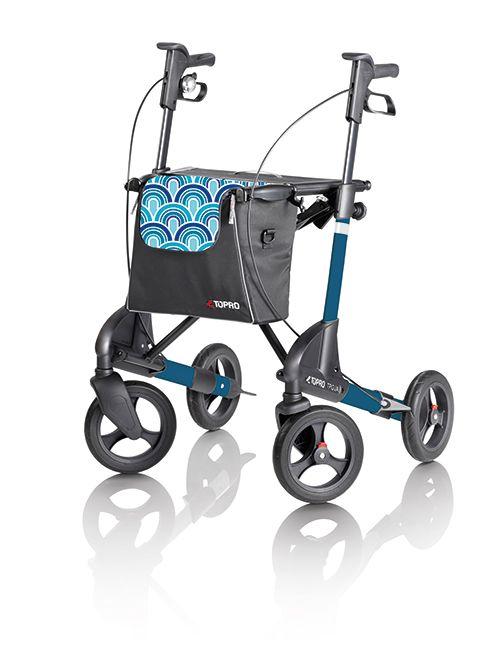 Topro Troja 2G Blauw - Gratis Rugsteun