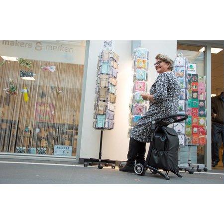 RELAX & GO shopping trolley - Boodschappentrolley met Zitje