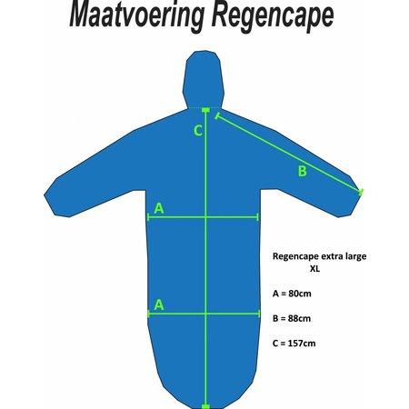 Scootmobiel Regencape - XL