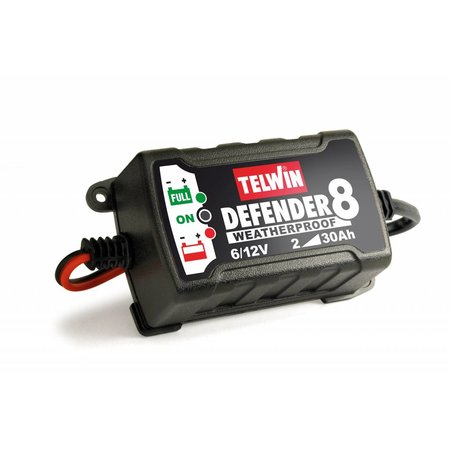 Telwin Acculader Defender 8 - intelligente acculader en onderhoudslader 6V en 12V