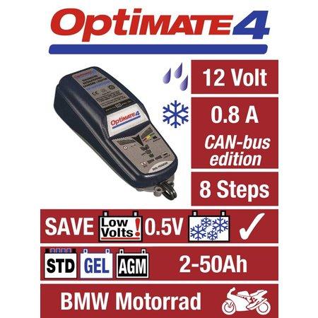 Tecmate Optimate 4 - Dual program - CAN-bus edition