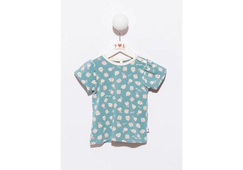 Blutsgeschwister Baby Girl T-Shirt - troublemaker girly tee creamy dreamcake