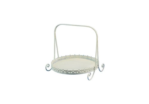 Etagere mit Griff | Shabby Chic