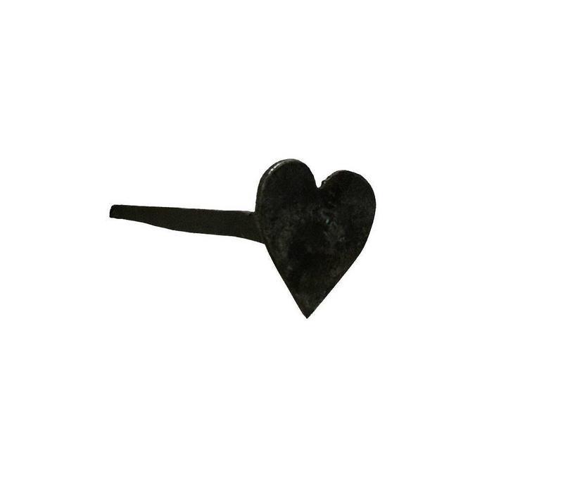 Handgeschmiedeter Nagel mit Herzkopf